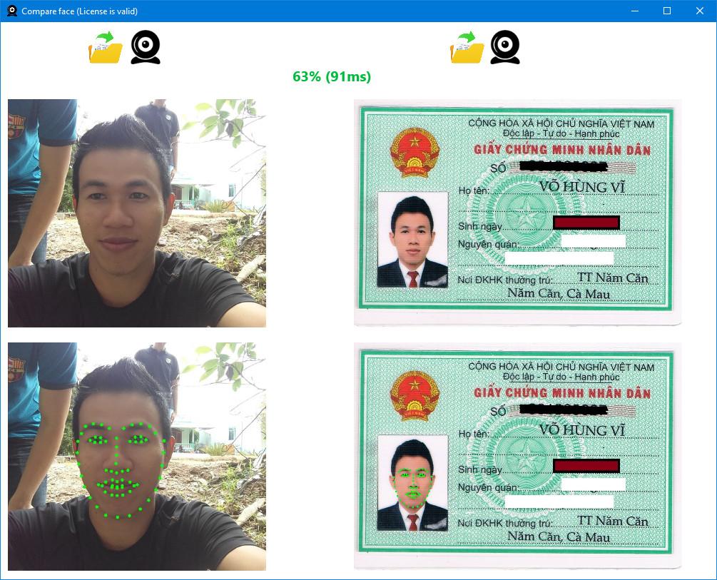 FaceComp - Phần mềm nhận diện khuôn mặt